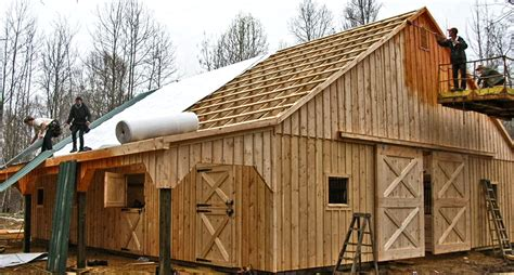 What Is A Barn Modular Barns Prefab Barns Horizon Structures