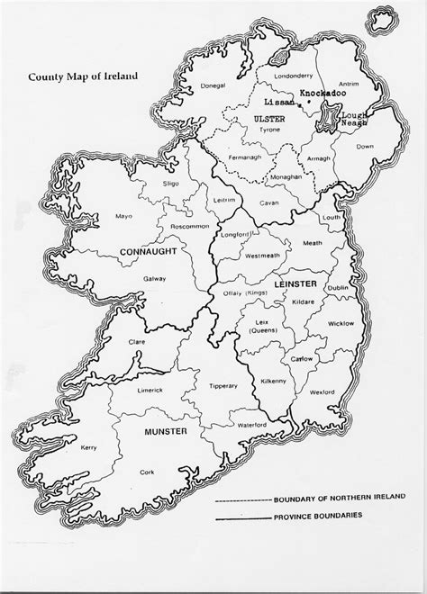 Search Free Ireland Ireland Map Free Colouring Pages