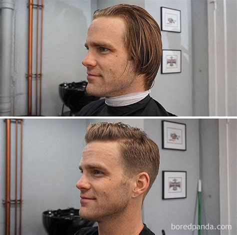guy haircuts before and after 10 incredible photos before and after a haircut prove a