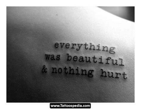 deep  meaningful tattoo quotes quotesgram