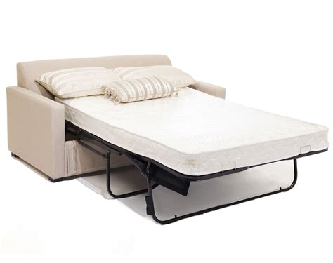 Mattress For A Sofa Bed Light Brown Microfiber Loveseat Sleeper Sofa With White Size Mattress Topper With Folding