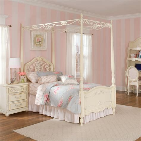 full size bed for girl canopy beds for girls decofurnish