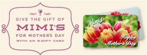 Mimi S Cafe Gift Card - meet the sponsors of the 4 25 remembermom2013 twitter party eighty mph mom oregon