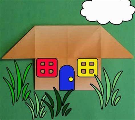 Simple Origami House - a of randomitis origami house