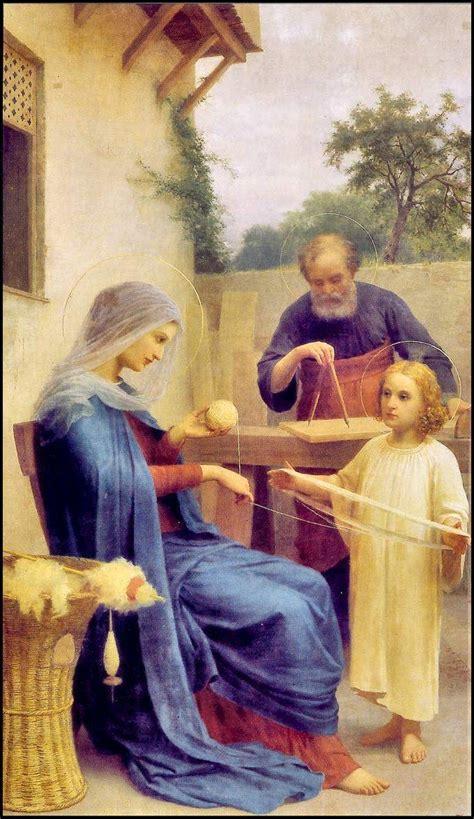 imagenes de la sagrada familia jesus maria y jose la sagrada familia ejemplo de amor respeto trabajo y