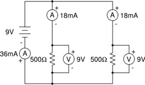 measuring current in parallel resistors home tutoring electronics serial vs parallel measuring circuits
