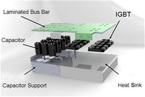 capacitor heat sink unique power solutions bar busbar