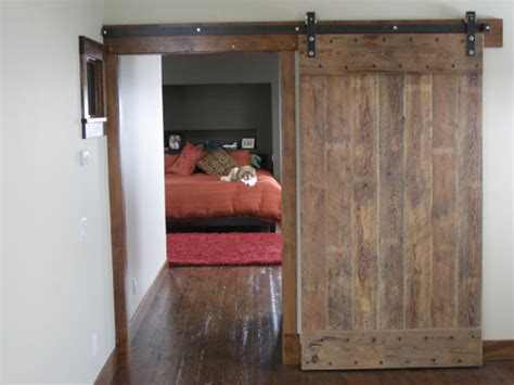 Barn Door Tracker For Sale Barn Door Hardware Kits From Designer Finishes Custom Rollers Leatherneck Agave And Rocky