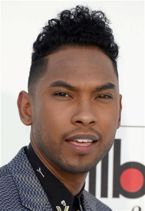 miguel hairstyle miguel photos photos 2012 billboard music awards