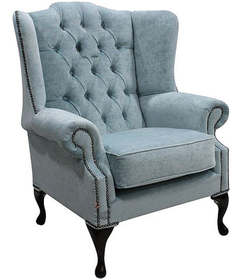 duck egg blue leather sofa duck egg blue chesterfield mallory wing chair
