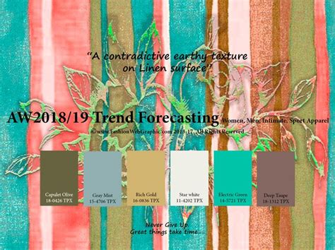 autumn winter 2018 2019 trend forecasting is a trend color 525 best 2018 19 fw trends images on color