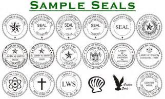 company seal template corporate seals and embossers