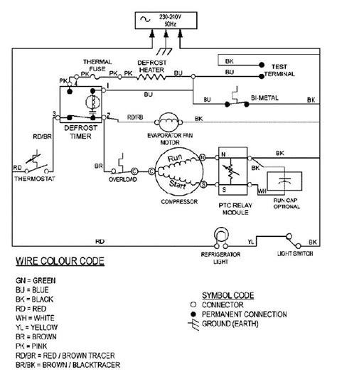 refrigerator wiring diagram repair 34 wiring diagram