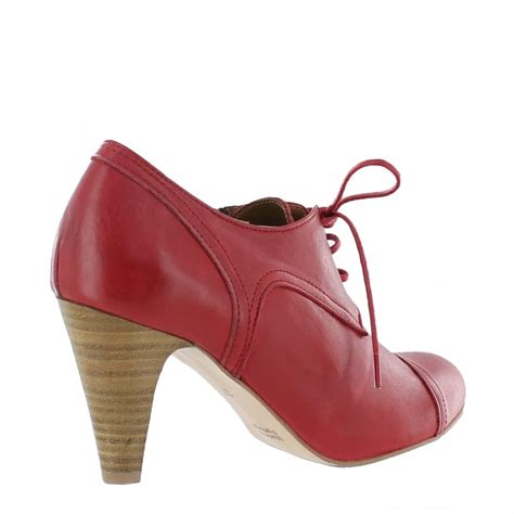 marta jonsson womens high heeled lace up shoe 4740l