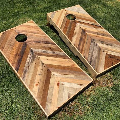 diy wooden bean bag toss diy pallet chevron boards follow me on instagram