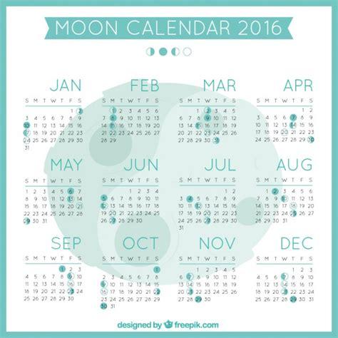 Calendario Da Lua Lua Calend 225 2016 Baixar Vetores Gr 225 Tis