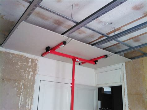 Construire Un Faux Plafond by Faux Plafond Placoplatre Isolation De Verre