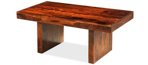 Coffee Table Cube Cube Sheesham Block Coffee Table Quercus Living
