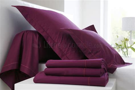 linge de lit des vosges linge lit uni coton percale blanc des vosges