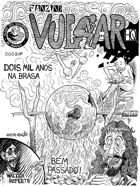 """""""Vulgar"""" Nº 02. Fanzine de histórias em quadrinhos"""
