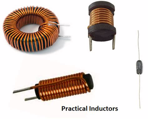 what is the inductance of the coil inductor electrical circuits