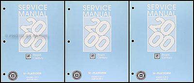 service manual repair manual 2000 buick regal free 1988 1996 1997 1998 1999 2000 2001 2002 2000 buick regal century repair shop manual original 3 volume set