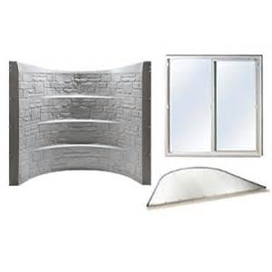 basement solutions granite egress kit fire escape window