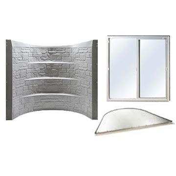 basement egress window kit basement solutions granite egress kit escape window