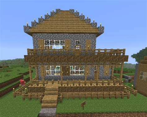 minecraft simple house designs simple all in one house minecraft project