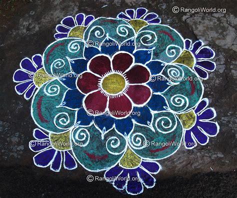 design is rangoli flower rangoli designs collection