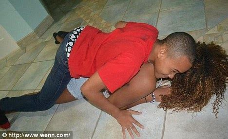 Little Brother And Sister Humping | rihanna larks around with her little brother rajad daily