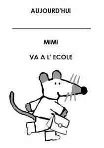 Mimi Activit 233 S Dessin De Ecole Maternelle Imprimer Coloriage De L L L L