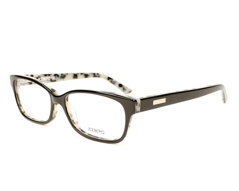 best deals iceberg eyeglasses ic177 01 53 black