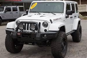 Evolution Of The Jeep Wrangler Custom 2015 Jeep Wrangler Rubicon Unlimited White