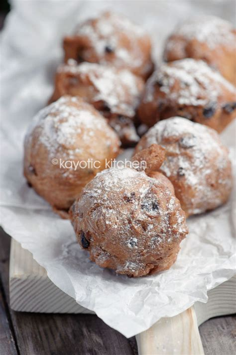 new year pastry recipe oliebollen 171 kayotic kitchen
