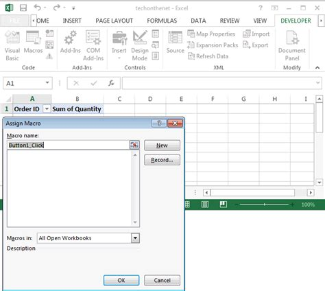 how do you refresh a pivot table ms excel 2013 refresh pivot tables with a button