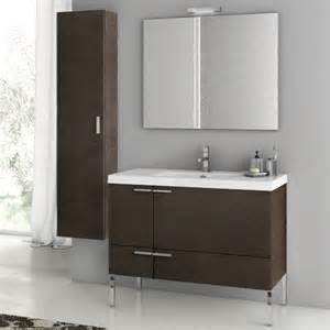 bathroom storage sets modern 39 inch bathroom vanity set with storage cabinet