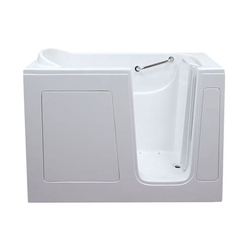therapy bathtubs care series 3054 soaker walk in bathtub by american