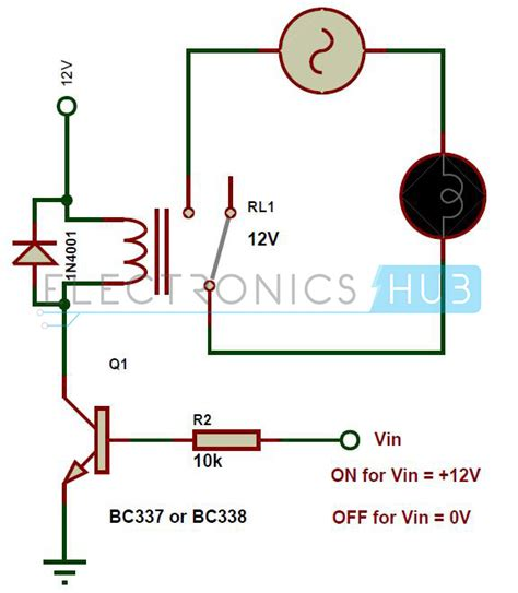 simple transistor relay driver types of relays and relay driver circuit buchholz relay