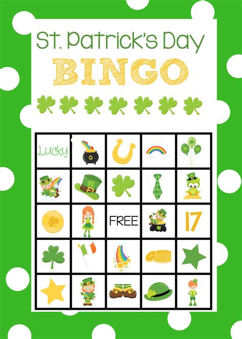 s day bingo card template st s bingo cards projects