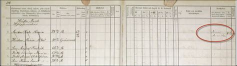 Swedish Birth Records Before 1880 Hane Moving Out Record