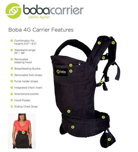 Boba Carrier 4g Vail By Kenmomshop boba 4g baby carrier