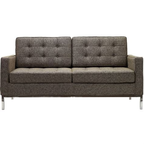 loft sofa florence knoll two seat loft sofa sectional couch wool