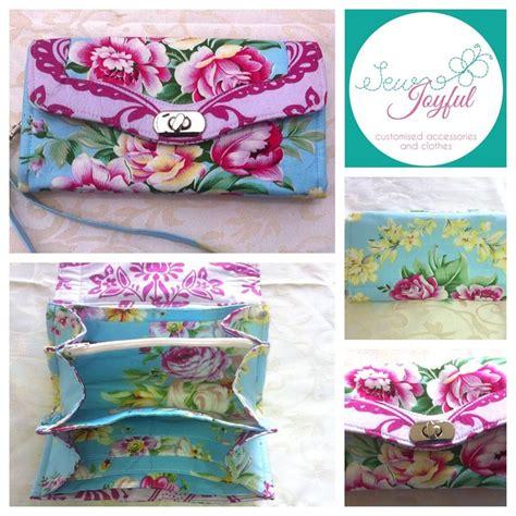 Joyful Clutch the necessary clutch wallet emmaline sewing patterns