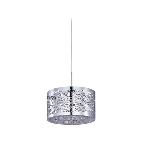 Low Voltage Mini Pendant Lighting Modern Low Voltage Mini Pendant Light With Silver Cage Shade E94545 10pc Destination Lighting