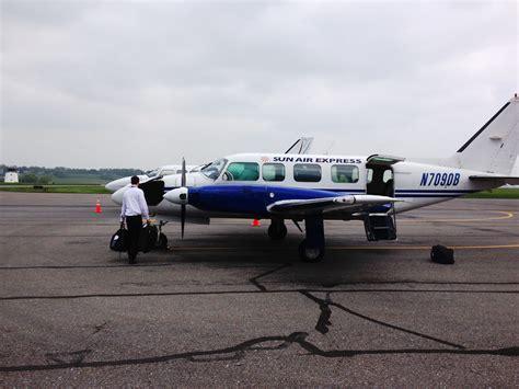 air express flight reviews sun air express lancaster pa lns to