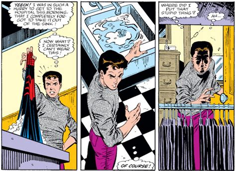 And Being Loved And Being Chased Real Comic the amazing spider by defalco and frenz part 2