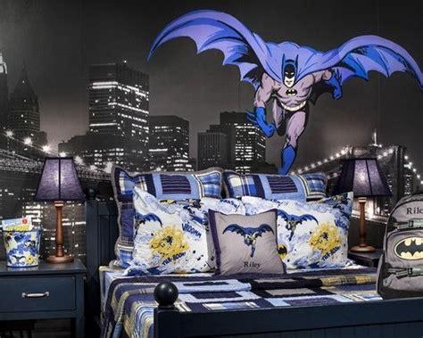batman wallpaper decor bedroom batman and spiderman inspired bedroom decorating