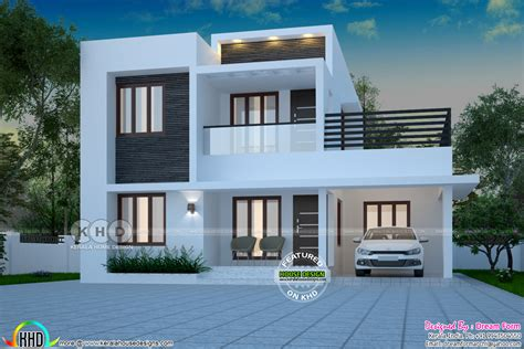 1871 square 4 bedroom modern house kerala home