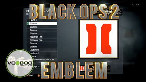 emblem maker call of duty black ops 2 emblem logo call of duty black ops emblem editor series episode 75